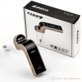 MP3-FM трансмитер за автомобил с Bluetooth, CARG 7 - USB, micro SD, Line In