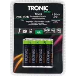 4 броя акумулаторни батерии АА 2400 maAh